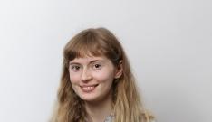 Sophie Slater a volunteer for Evolve
