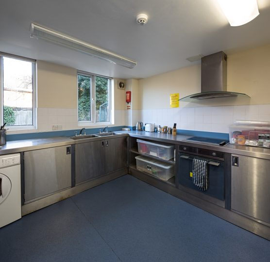 Bromley Service kitchen area