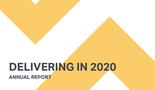 Annual report: Delivering in 2020